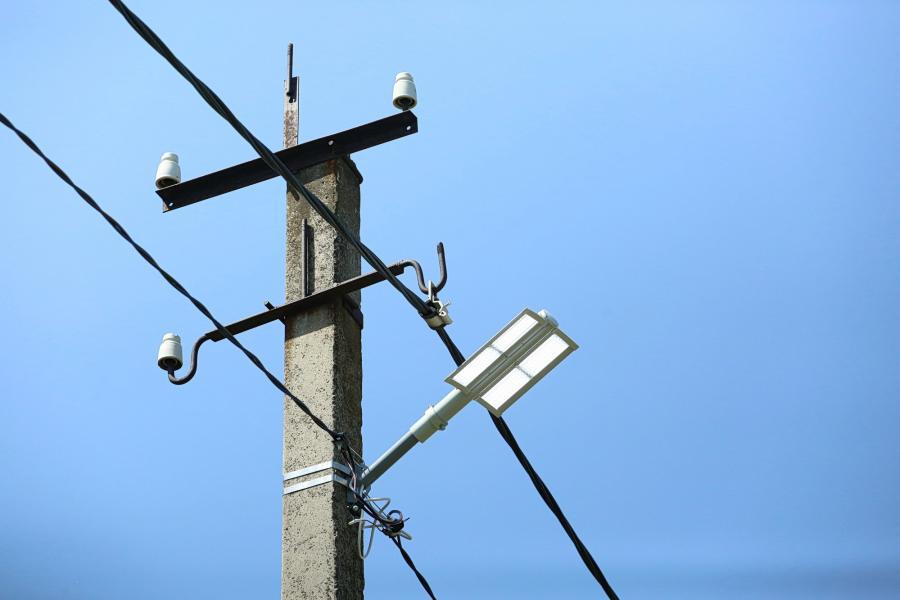За год наружное освещение восстановлено в 105 населенных пунктах Харьковской области