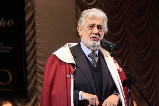 Пласидо Доминго стал Почетным профессором Национальной музыкальной академии Украины им. П. И. Чайковского