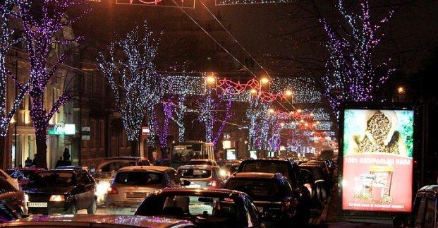 Харьковчанам обещают потрясающую иллюминацию на улицах