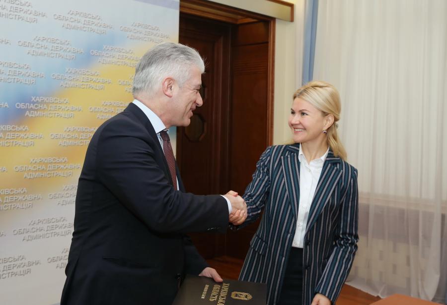 Светличная встретилась с послом Германии