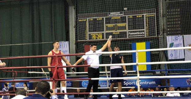Харьковчанин победил на международном турнире по боксу
