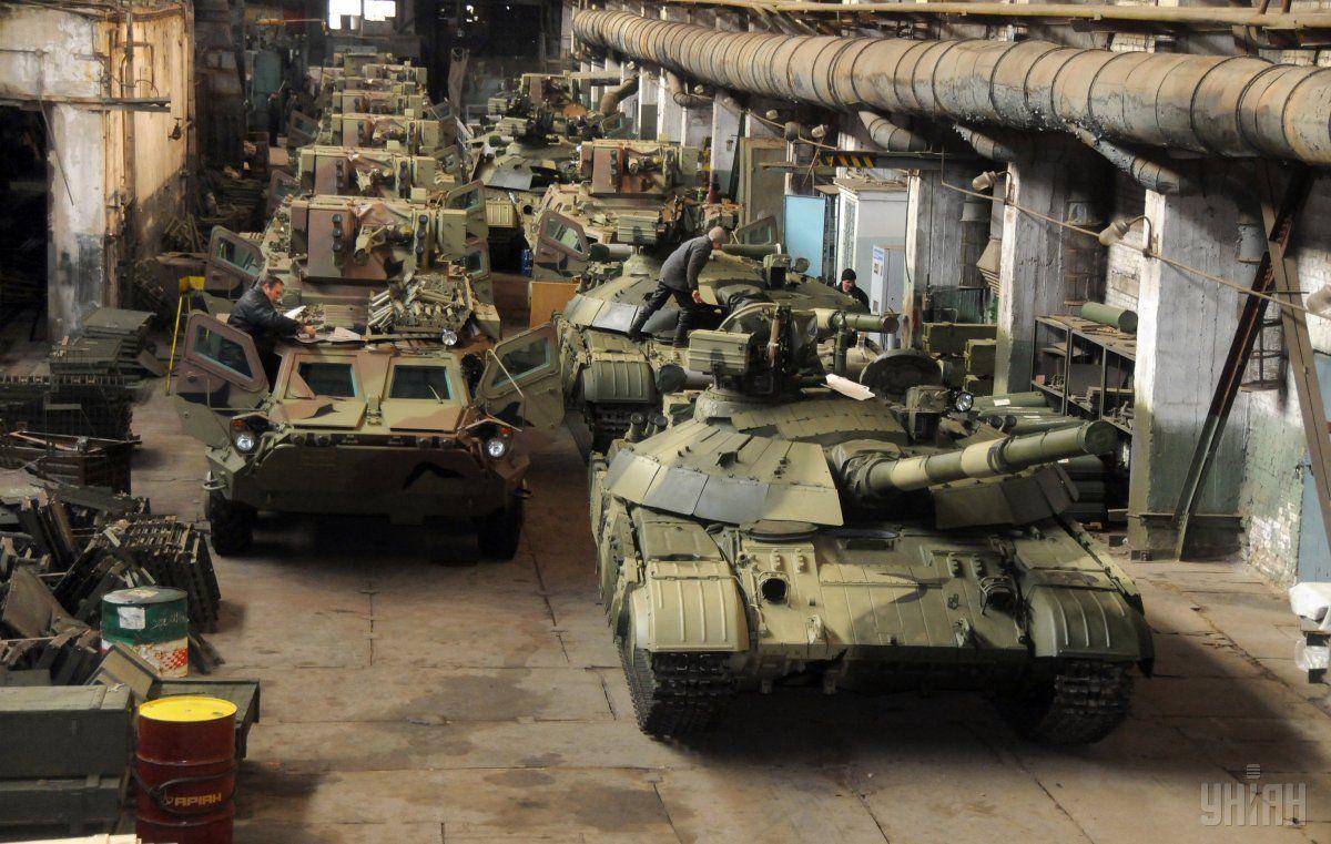 ГП «Харьковский бронетанковый завод» модернизировал для украинских танкистов более сотни Т-64 образца 2017 года