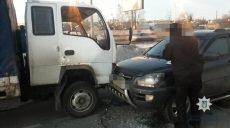 На Ландау произошло ДТП с пострадавшими (фото)