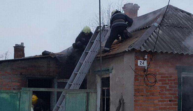 На Харьковщине на пожаре погибла 83-летняя женщина