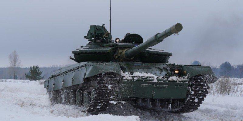 """""""Укроборонпром"""" показал в действии модернизированный Т-64 образца 2017 (фото, видео)"""