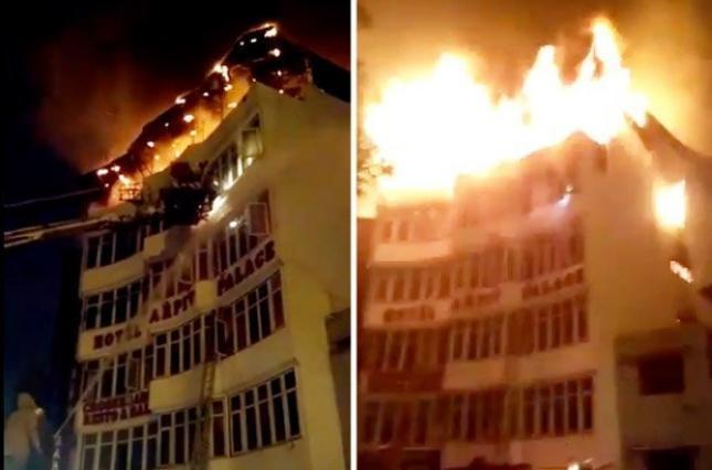 ЧП в столице Индии: 17 человек сгорели заживо (фото, видео)
