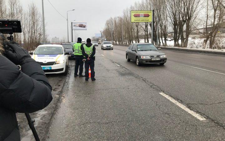 Патрульные вышли на харьковские дороги с радарами TruCam (фоторепортаж)