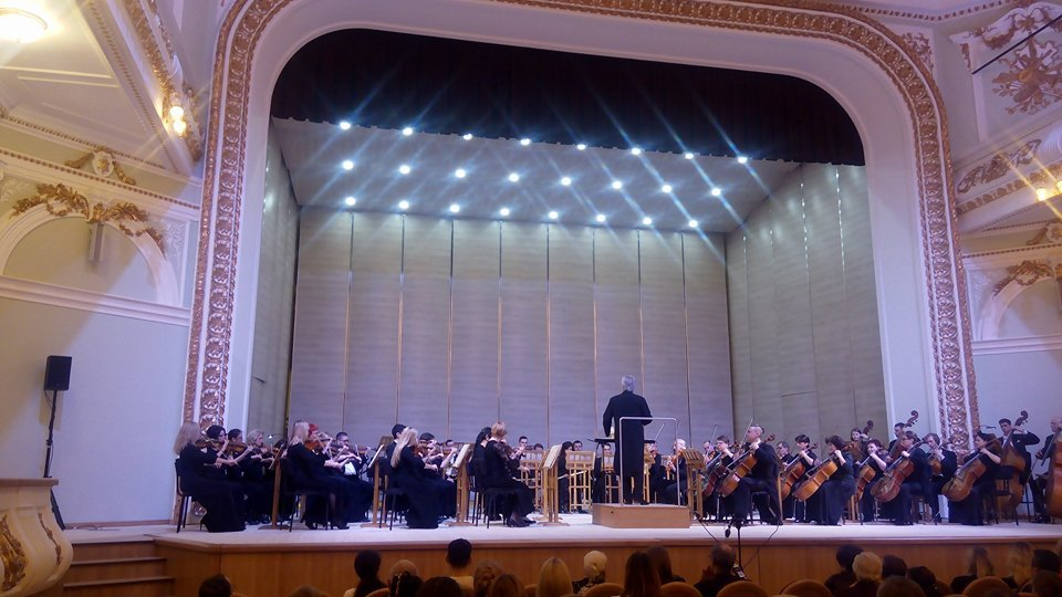 В харьковской областной филармонии состоялся первый открытый концерт (фото)