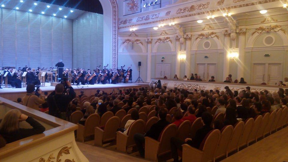 В обласній філармонії – перший відкритий концерт після реконструкції (відео)