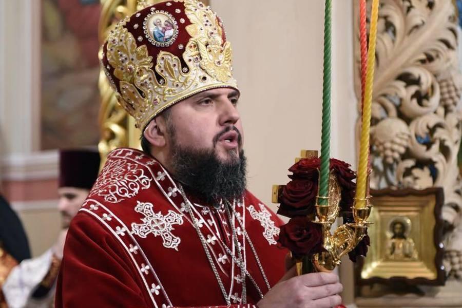 Митрополит Епифаний возведен на престол