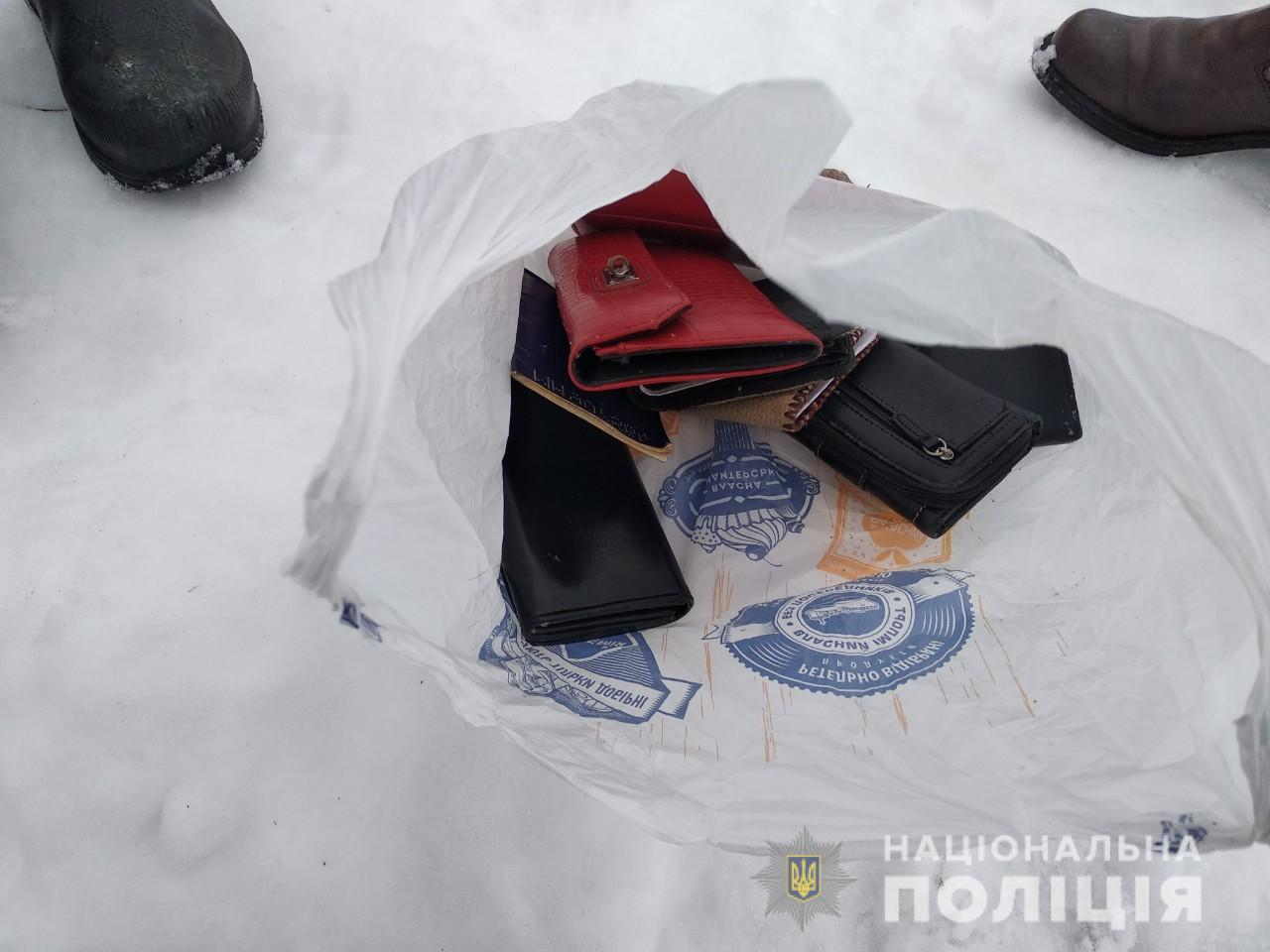 Под Харьковом задержали карманного вора (фото)