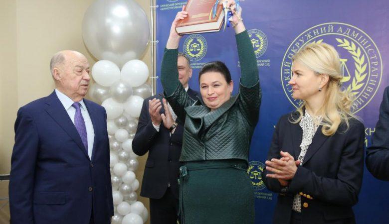 У Харківському окружному адміністративному суді оновили одне з приміщень (відео)
