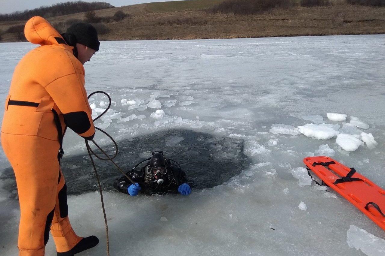 Под Харьковом утонул рыбак (фото)