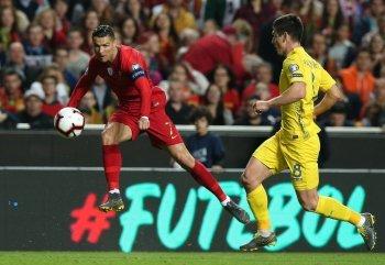 Отбор на ЧЕ-2020: впервые Украина сыграла вничью с Португалией (видео)