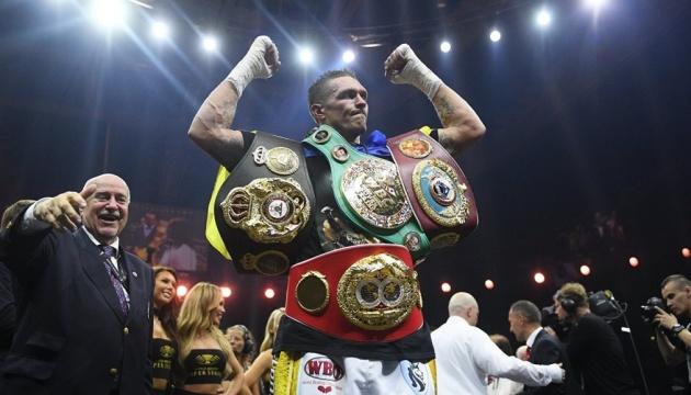 Усика обязали защитить чемпионский титул в бое с Лебедевым