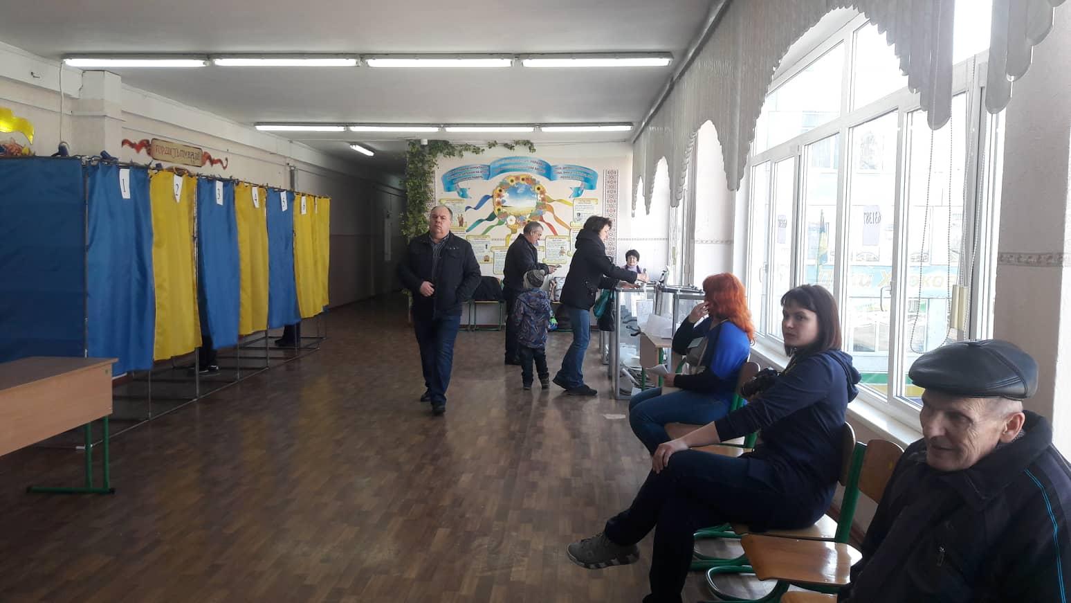 Явка на участки Харьковской области составила почти 46%