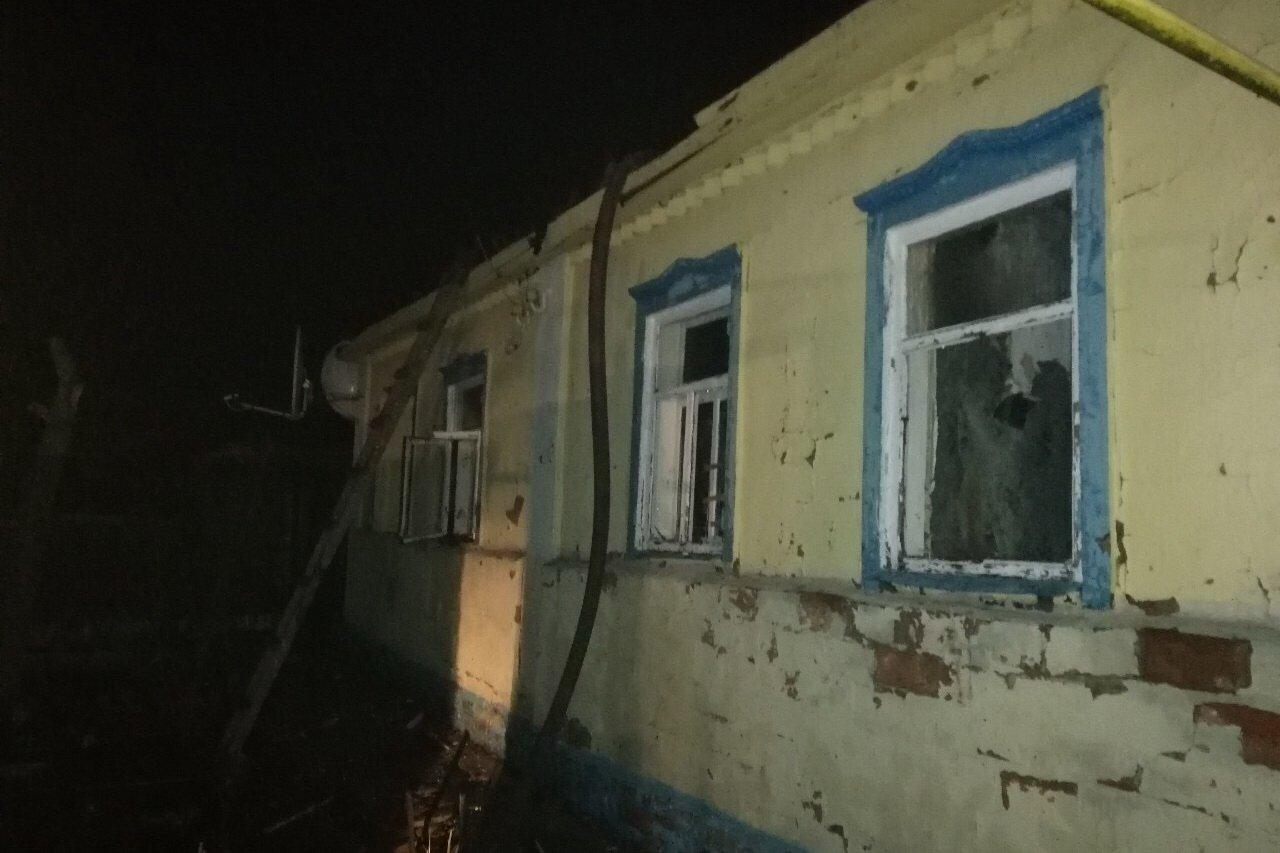 На Харьковщине на пожаре погибла женщина