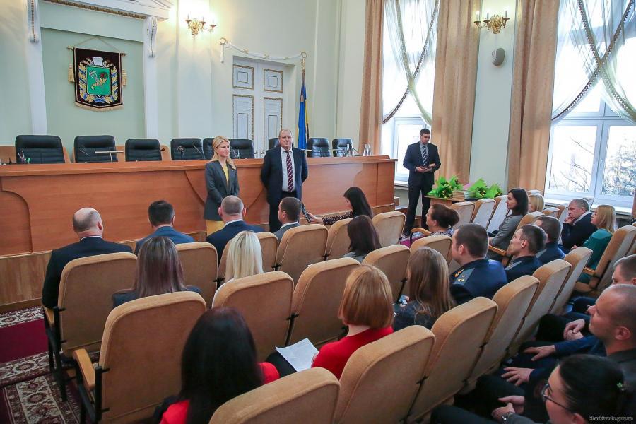 Светличная встретилась с коллективом прокуратуры Харьковской области