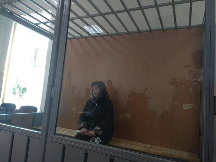 На Харьковщине избирают меру пресечения заказчице убийства военнослужащего-контрактника (фоторепортаж)