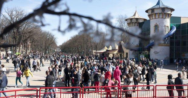 В парке им. Горького подготовили развлекательную программу для школьников