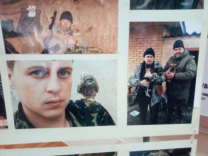 Ко Дню добровольца в Харькове представили тематическую фотовыставку и мастер-класс с животными (фоторепортаж)