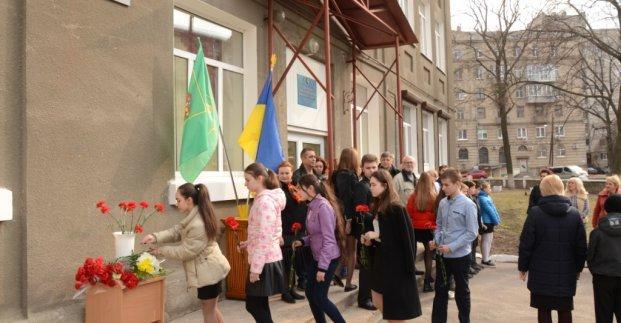 В Харькове увековечили память одного из основателей поискового движения