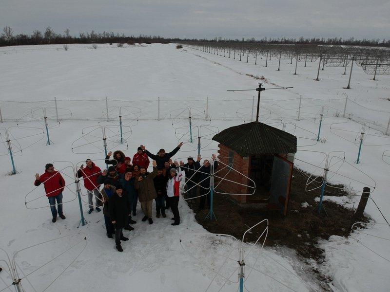 Украинские полярники тренировались на Харьковщине