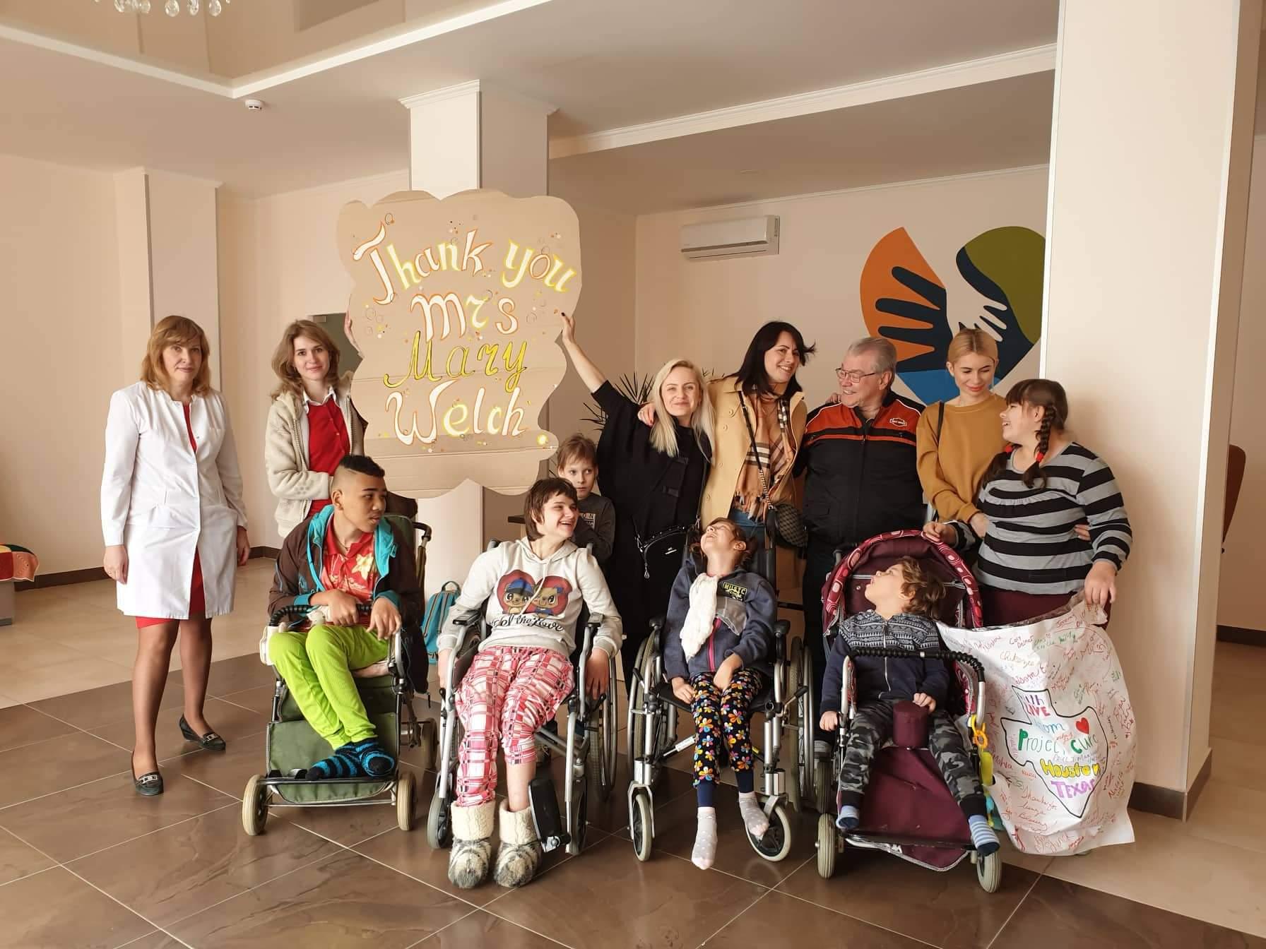 Детской больнице передана  благотворительная помощь на сумму более 370 тысяч гривен