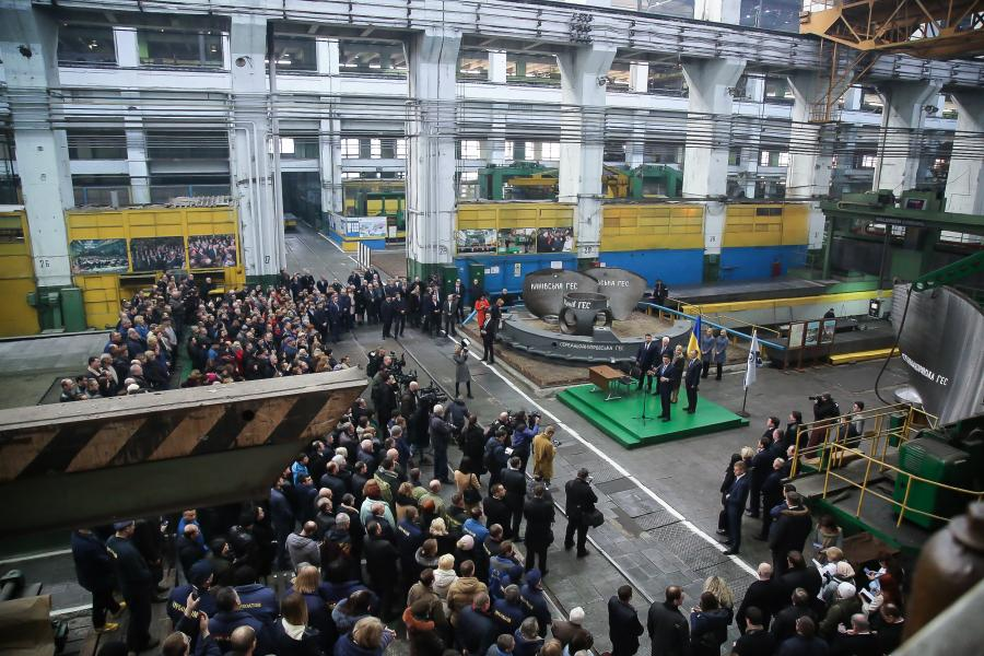 «Турбоатом» і «Електроважмаш» підписали контракт з «Укргідроенерго» майже на 1,5 мільярди гривень (відео)