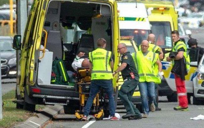 Теракт в Новой Зеландии Twitter
