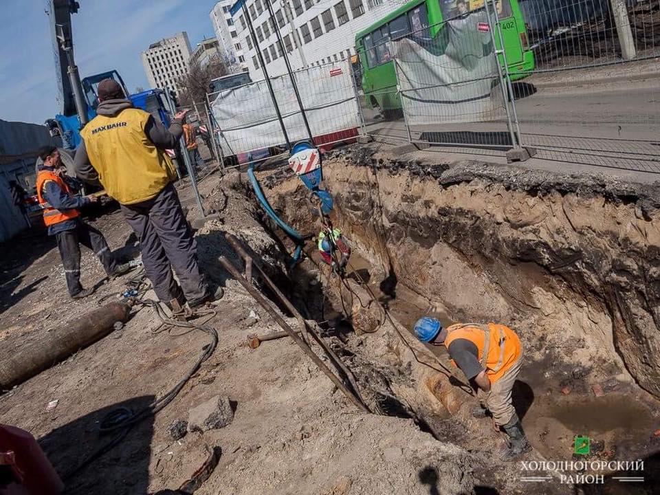Где в Харькове не будет воды (адреса)