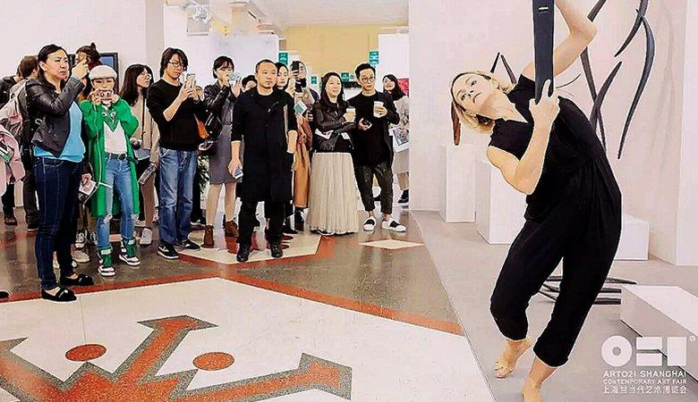 Харьковчанка рассказала о своих хореографических проектах в Китае (видео)