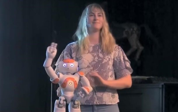 В Америке создали робота-юмориста (видео)