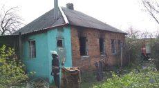 На Харьковщине на пожаре погиб человек (фото)
