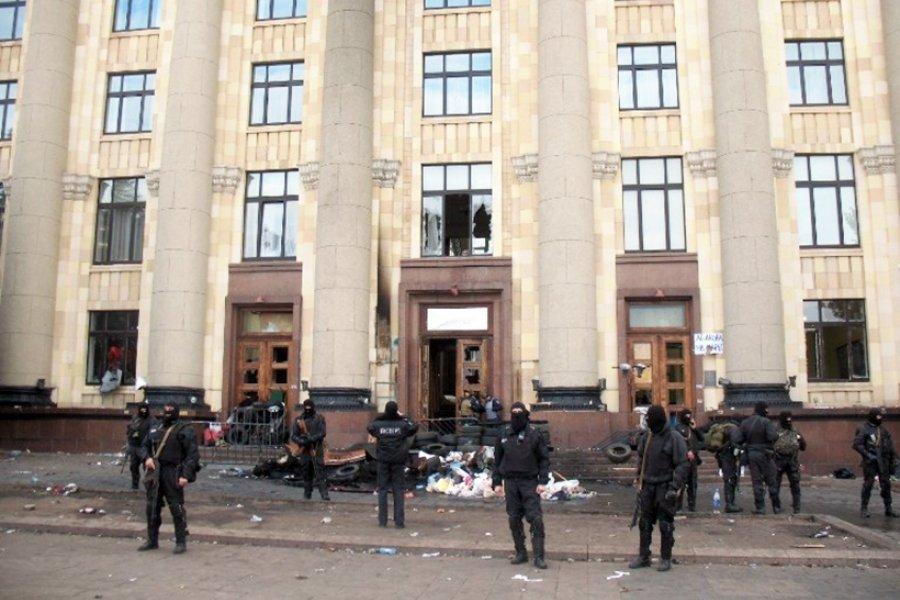 Пять лет назад было освобождено от сепаратистов здание ХОГА