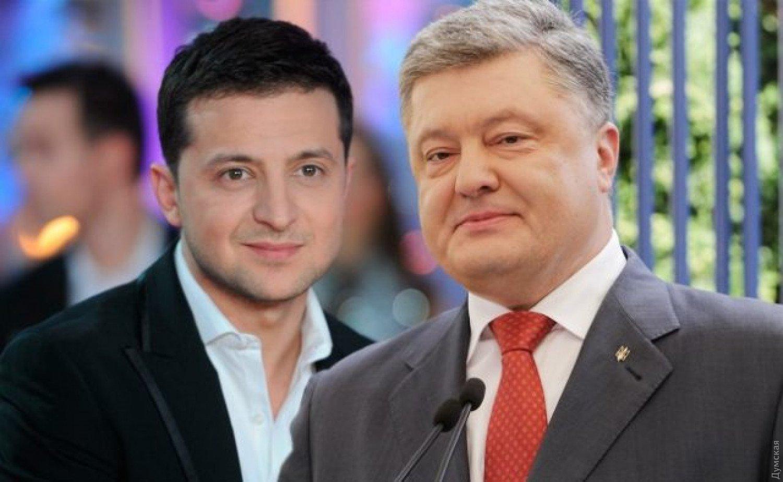 Порошенко и Зеленский проголосовали на выборах президента Украины
