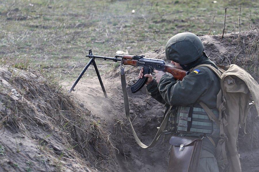 У курсантов-нацгвардейцев прошли полевые стрельбы (фото)