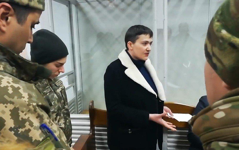 Надежда Савченко вышла на свободу (видео)
