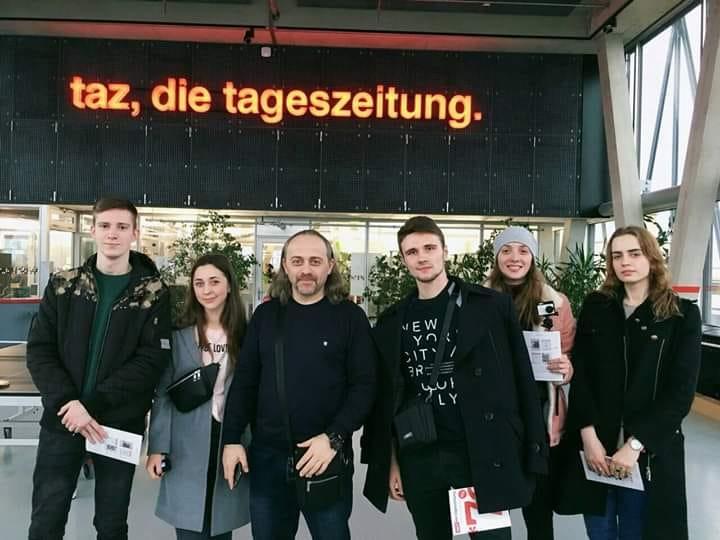 Через терни до Берліну: цікавості стажування у німецькому виданні