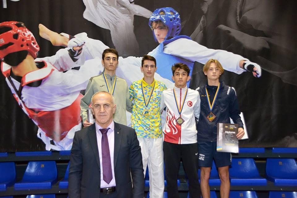 Харьковские тхэквондисты выиграли награды турнира «G-1»