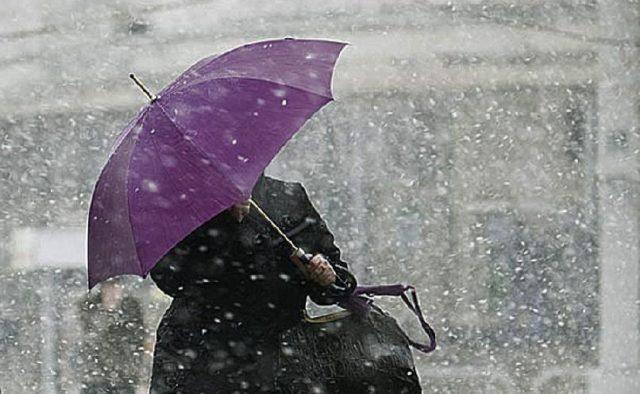 Завтра в Харькове -мокрый снег