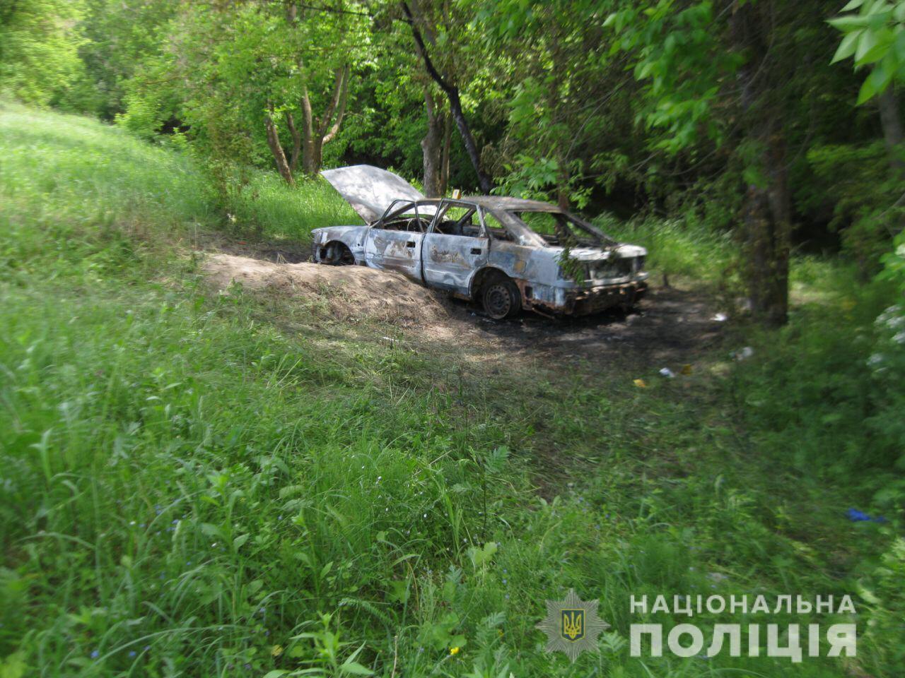 Харьковчанин угнал иномарку, покатался на ней, а потом сжег (фото)