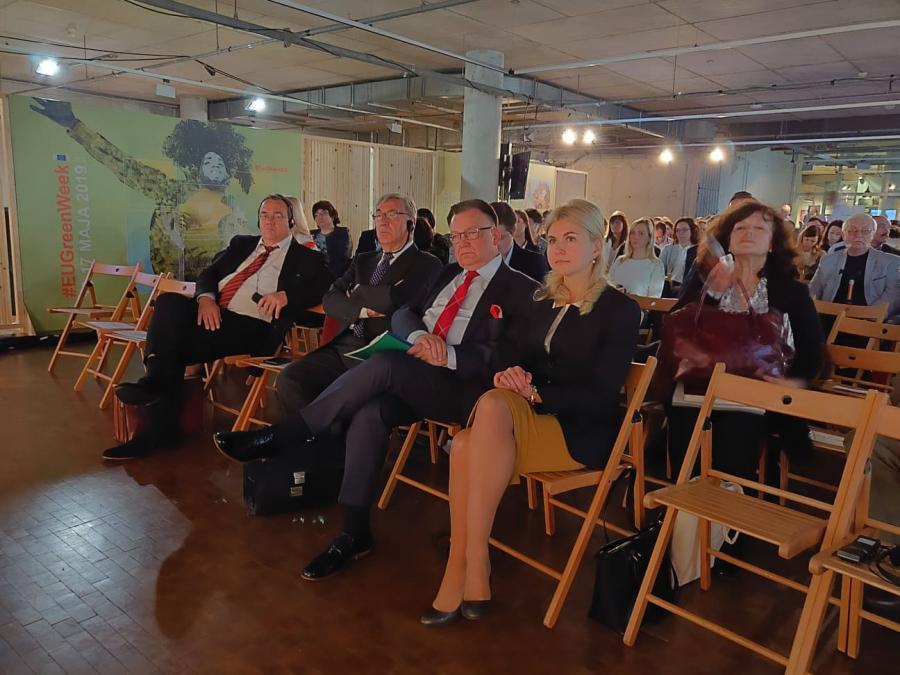 Светличная с руководителем Мазовецкого воеводства приняла участие в открытии Зеленой недели Евросоюза