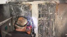 В Харькове из-за короткого замыкания горела многоэтажка