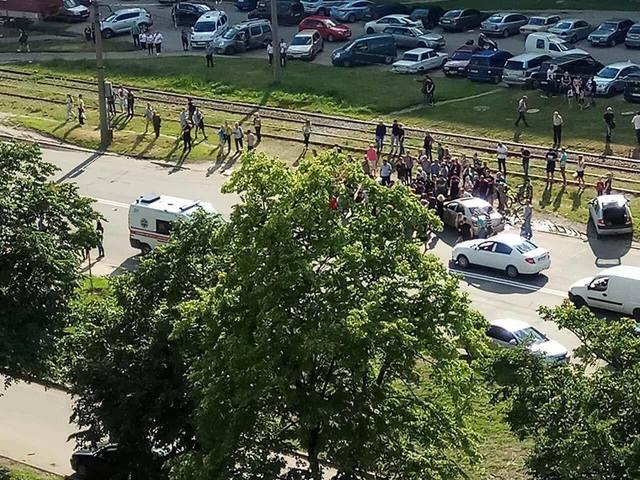 ДТП в Харькове: мотоцикл насмерть сбил пешехода