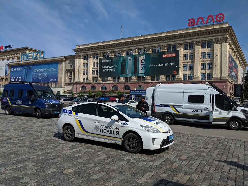 У активистов есть разрешение на размещение палатки до 31 декабря 2019 года – начальник полиции Харьковщины