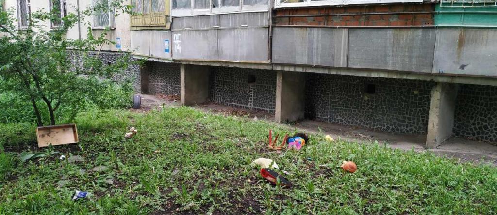 В Харькове двухлетний мальчик упал с 6 этажа и остался жив