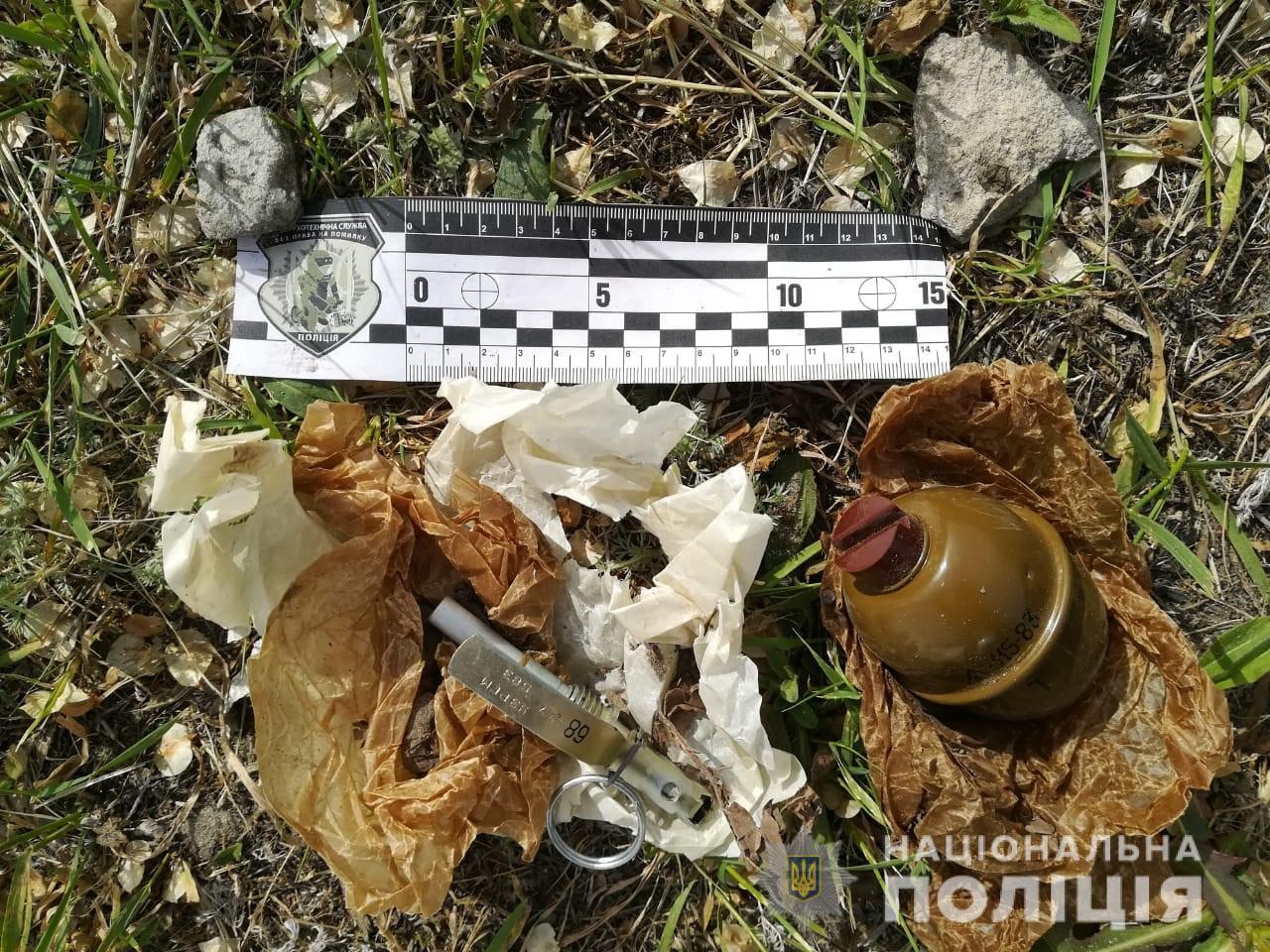 Харьковчанин нашел гранату и оставил себе, чтобы потом обменять ее на наркотики (фото)