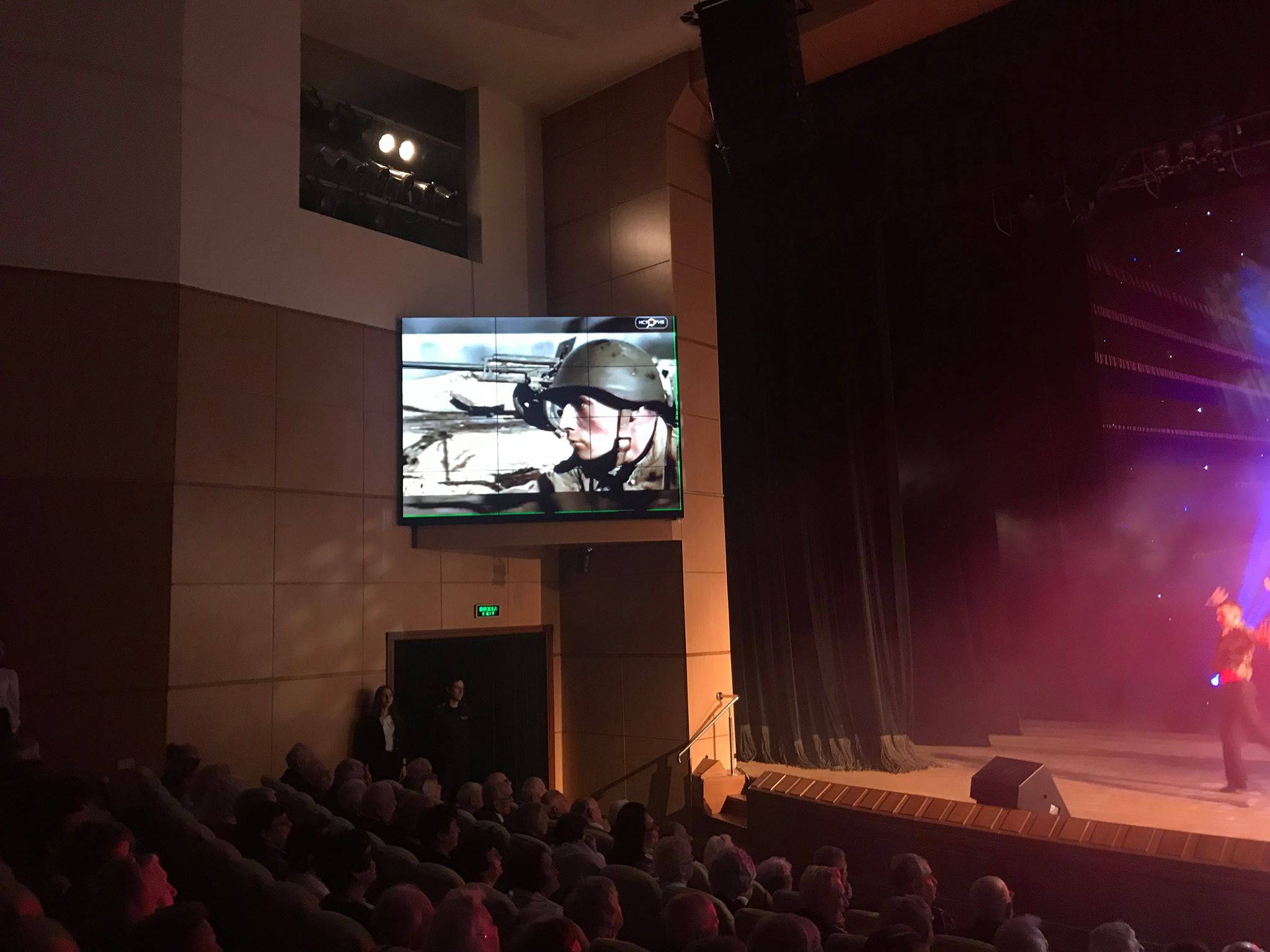 У Палаці студентів юридичного університету відбувся концерт, присвячений Дню Перемоги (відео)