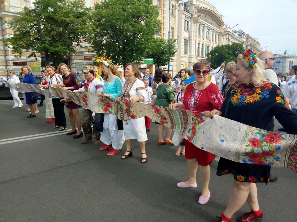 Харків'яни відзначили Всесвітній день вишиванки (відео)